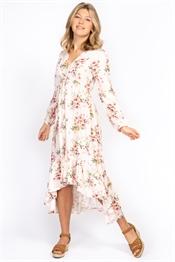 Bild på Malva Kaftan Dress Champagne/Rose
