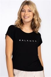 Bild på Balance Tee Black